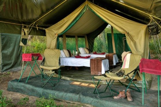 tiendas de campaña Kenia